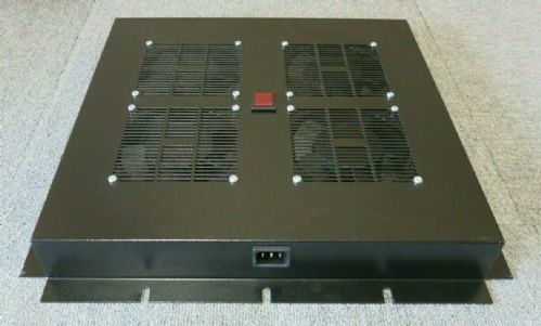 4 Way Sunon DP203A Cooling Fans Roof Mount Cabnet Tray Black